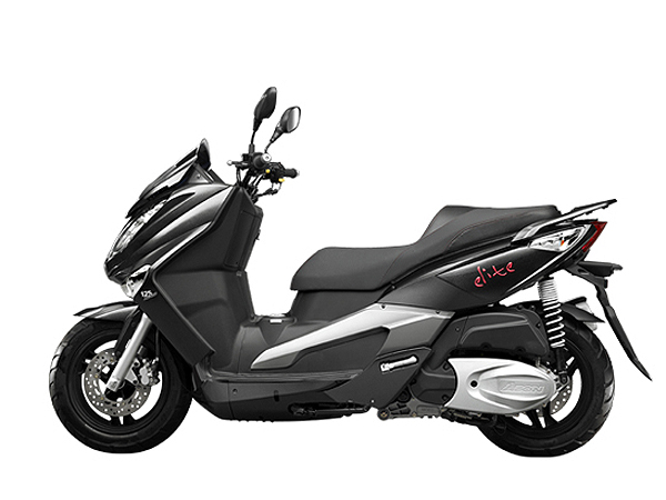 000200 Scooter Elite125 Black